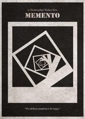 Memento Minimal Poster