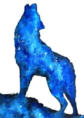 Howling Space Wolf