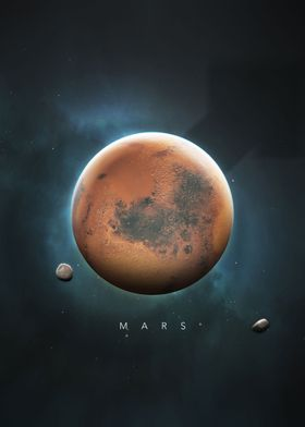 A Portrait of the Solar System: Mars