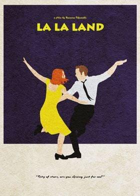 La La Land Minimal Poster