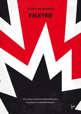 No876 My Valkyrie minimal movie poster