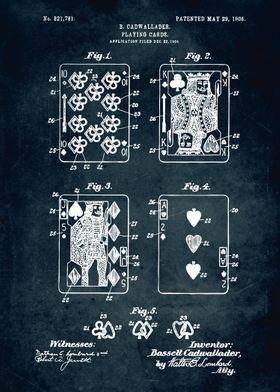 No219 - 1904 - Playing cards - Cadwallader