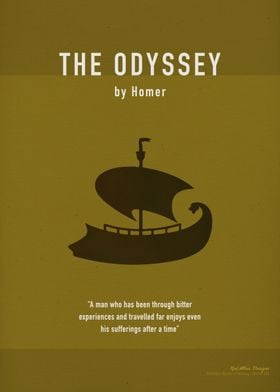The Odyssey by Homer Greatest Books Series 006