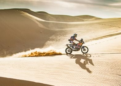 Going Through the Dunes