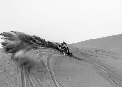 Comet on Sand