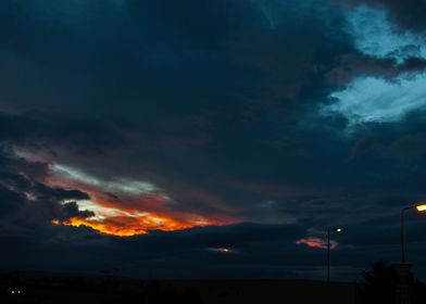 Scottland at night, Photography