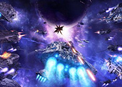 Armageddon Unleashed (full spread)