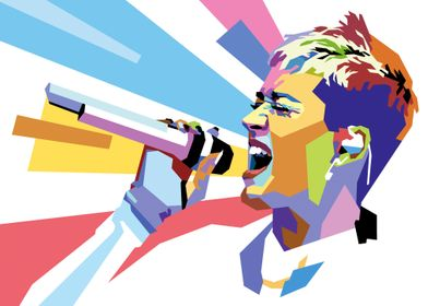 WPAP of Katy Perry