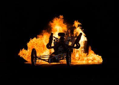 Flaming Burnout