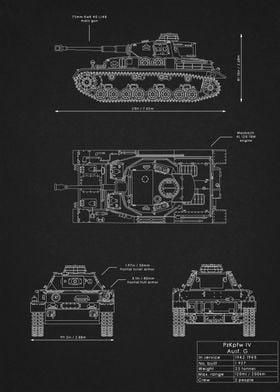 PzKpfw IV Ausf.G Blueprint