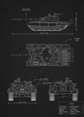 T-72A Blueprint