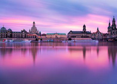 Bruehls Terrace - Dresden - Germany