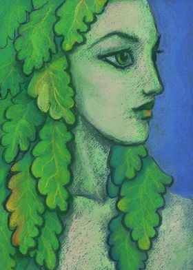 Balanis Dryad Fantasy Art