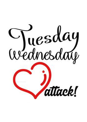 Tuesday....wednesday!