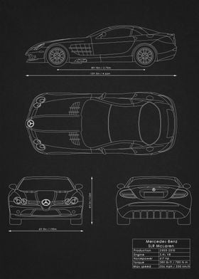 SLR McLaren Blueprint