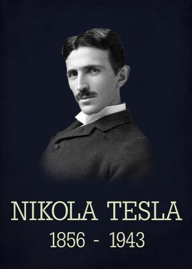 Nikola Tesla poster No.2