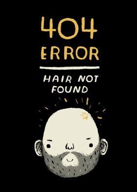404 error - hair not found