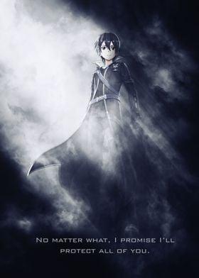 Kirito / Sword Art Online /SAO / Tagline