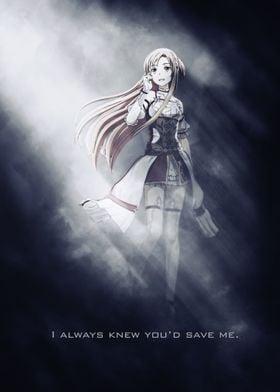 Asuna / SAO / Sword Art Online / Tagline