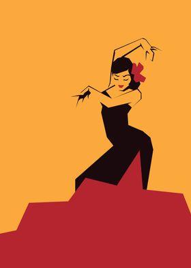 faceted flamenco