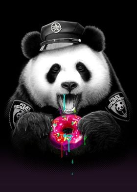 PANDA LOVES DONUT