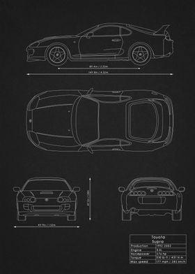 Toyota Supra Blueprint