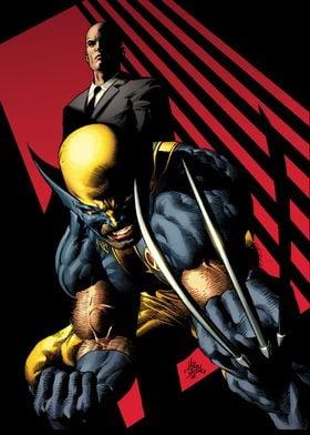 Logan and Xavier