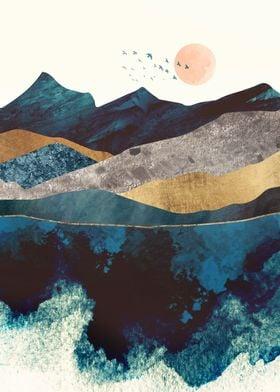 Blue Mountain Reflection