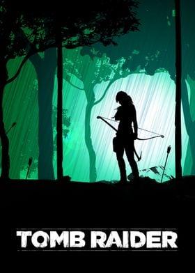 Minimalist Tomb Raider