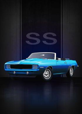 1969 Camaro SS Convertible
