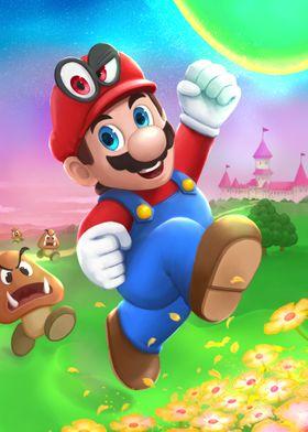 The happy plumber
