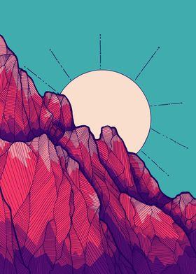 The Rose red peak