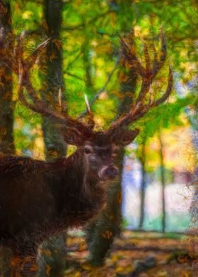The deer stag