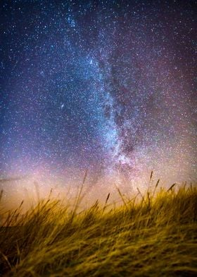 Milkyway from the Dunes