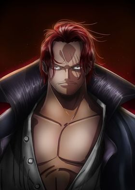 One Piece. Yonko Red-Haired Shanks