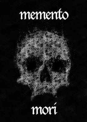Memento mori skull