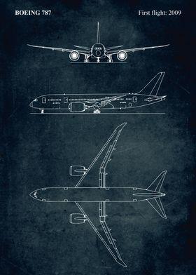 No007 - BOEING 787 - First flight 2009