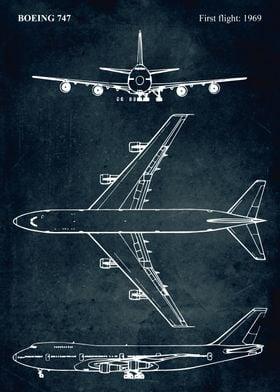 No006 - BOEING 747 - First flight 1969