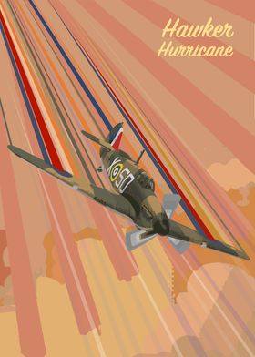 Hawker Hurricane Pop Art