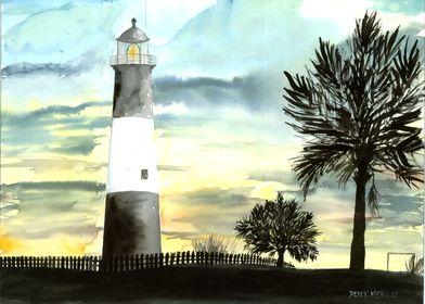 Tybee Island Lighthouse Beach Art