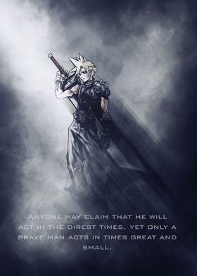 Cloud / Final Fantasy / Tagline