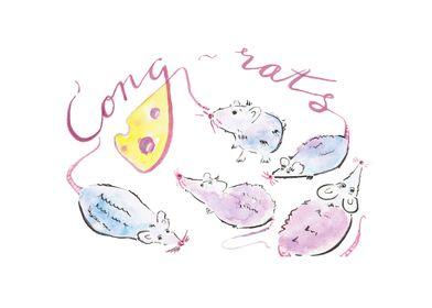 Cong-rats!