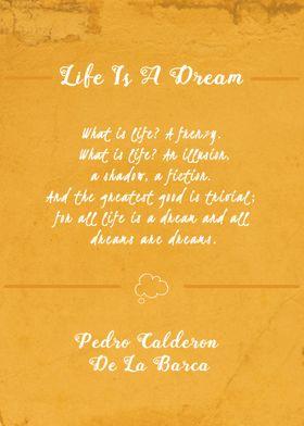 Life Is A Dream - Pedro Calderón De La Barca