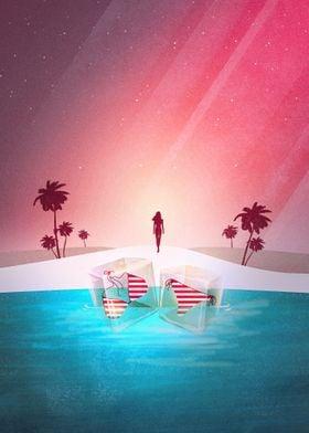 Bikini Beach | Digital Art