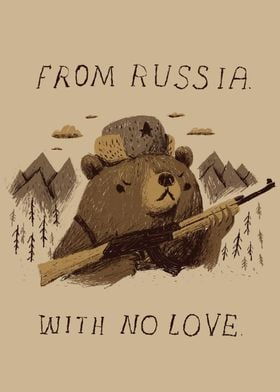 from russia with no love