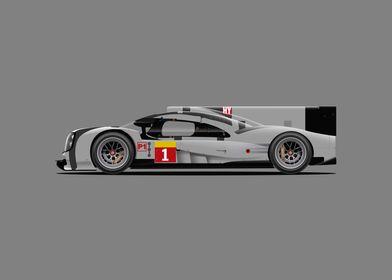 Porsche 919 Le mans (No livery)