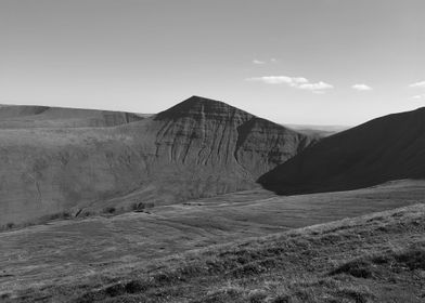 The Imposing North Face Of Cribyn