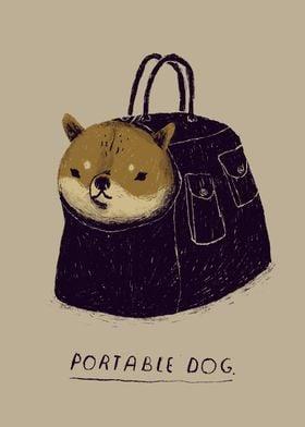 portable dog