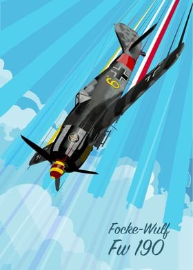 Focke Wulf Fw 190 Pop Art