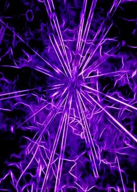 Ultra violet star lightning